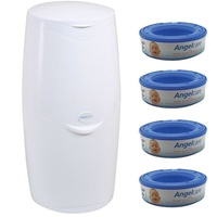 Angelcare Nappy Disposal System Starter Kit Includes 4 Refills