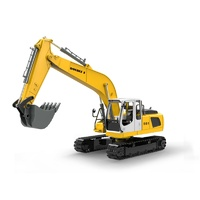 Double Eagle Radio Control Excavator with metal chassis 1:16 Scale