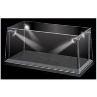 LED Display Case 1:18 Scale Black Base