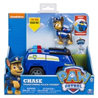 Paw Patrol Basic Vehicles - Chase Transforming Police Cruiser