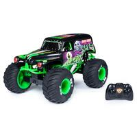 Monster Jam 1:10 Scale Radio Control Grave Digger Rechargeable
