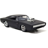 Jada Fast & Furious Dom's Dodge Charger R/T diecast 1:24 scale - matte black 97174