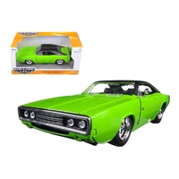 Jada BTM 1970 Dodge Charger R/T diecast 1:24 scale - lime - 97595