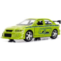 Jada Fast & Furious Brian's Mitsubishi Lancer Evolution VII 1:32 scale diecast metal