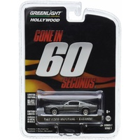 Gone In Sixty Seconds 1967 Mustang 'Eleanor' Movie 1:64 Scale