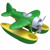 Green Toys Seaplane Green 100% Recycled Plastic
