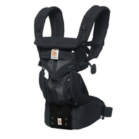 Ergobaby Omni 360 Cool Air Mesh All-In-One Baby Carrier - Onyx Black
