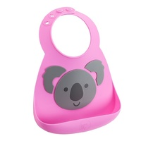 Make My Day Silicone Baby Bib Koala