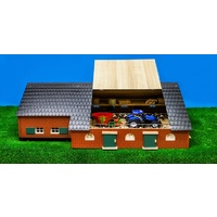Kids Globe Farmhouse with Farm Building 1:32 Scale
