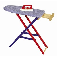 Santoys Wooden Iron & Ironing Board Set