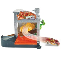 Hot Wheels City Downtown Pizza Toss Playset