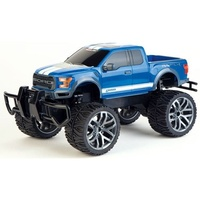 Carrera RC Ford F-150 Raptor Blue 1:14 Scale Li-ion rechargeable - LED lights Radio Control