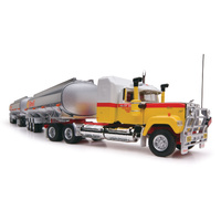 "Highway Replicas Tanker Road Train ""Shell"" 1:64 Scale Diecast"