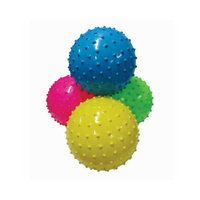 Fluro Nobby Playball Deflated One Supplied (Assorted Colours)