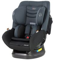 Mother's Choice Adore AP Convertible Car Seat (0-4yrs) ISOGO - Titanium Grey
