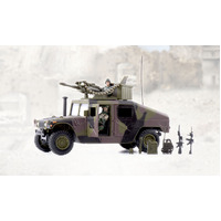 World Peacekeepers Humvee Assorted 1:18 Scale Toy Soldiers