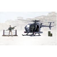 World Peacekeepers Combat Helicopter 1:18 Scale Toy Soldiers