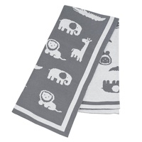 Lolli Living Pram Blanket - Urban Safari