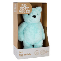 Resoftables Ted the Teddy Bear plush toy 30cm 100% Recycled Plastic