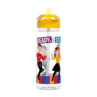 The Wiggles Drink Bottle Water Bottle Yellow Licensed Product 550ml