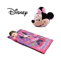 Disney Minnie Mouse Slumber Pillow Bag Combo
