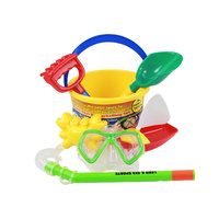 Palm Beach Toys and Snorkelling Set inc bucket & spade