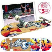 Adrenalin Halfpipe Skateboard Eyeball 31x8