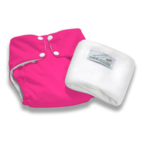Pea Pods Reusable Nappy ONE Size Hot Pink
