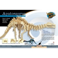 Heebie Jeebies Apatosaurus Large Wood Kit