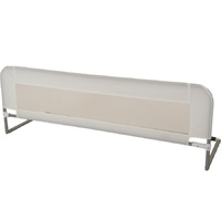 Babyhood Standard Bed Rail Guard for Bed White