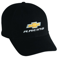 Chevrolet Chev Chevy Racing Gold Bowtie Black Cap Hat Holden Commodore GB973