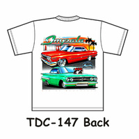 Chevrolet Impala T-Shirt M, L NEW with tags TDC-147