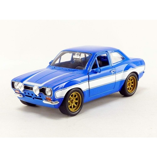 Jada Fast & Furious Brian's Ford Escort RS2000 MKI 1:24 Scale Diecast Metal 99572