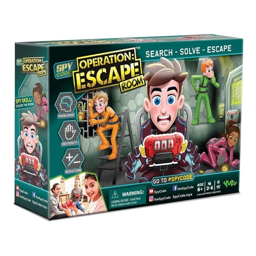 Operation: Escape Room Game