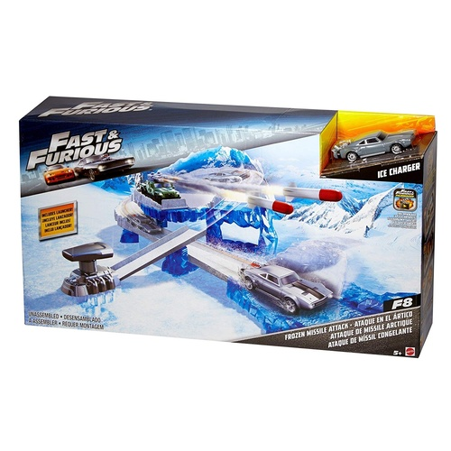 Fast & Furious Frozen Missile Attack Set